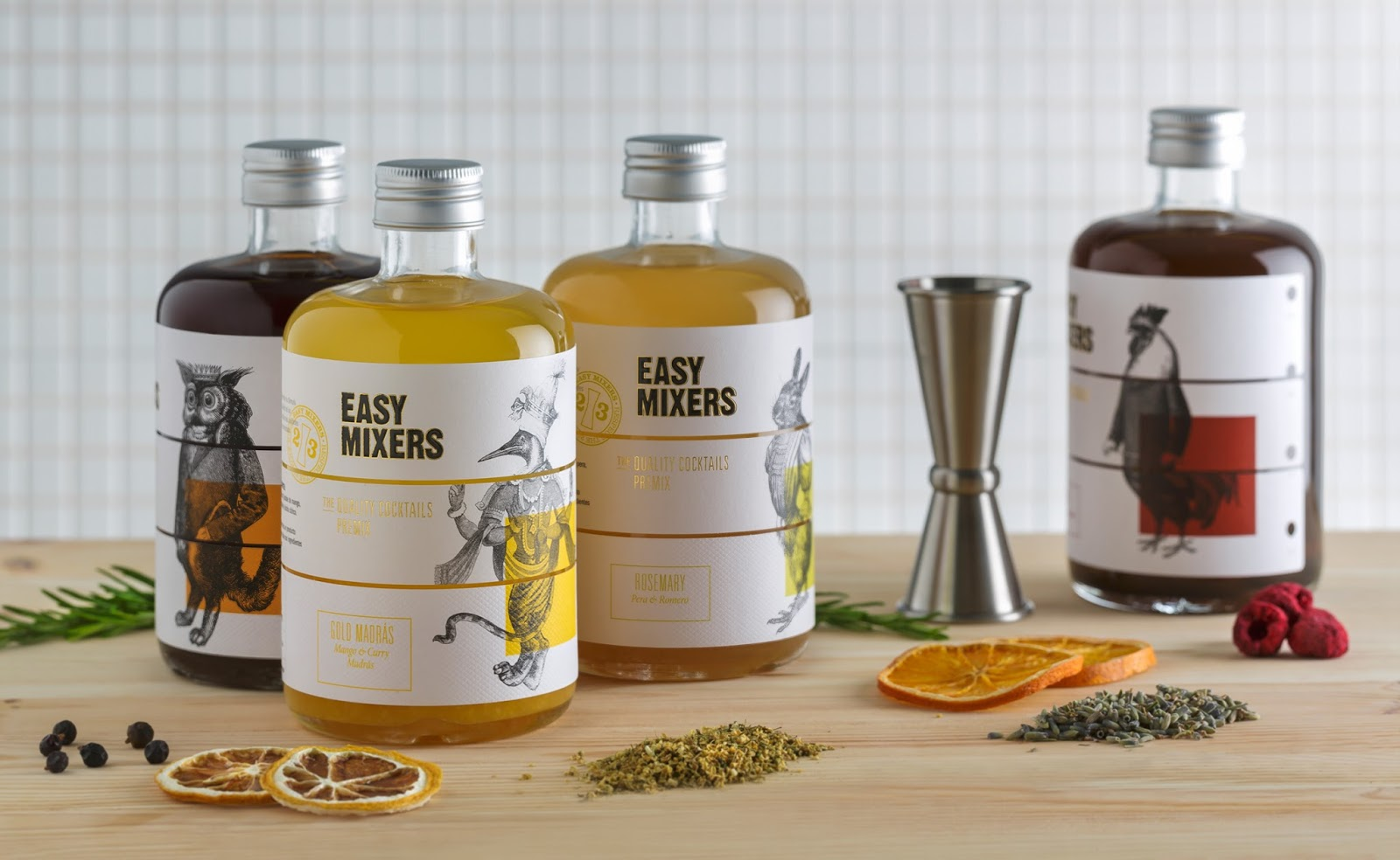 EASY MIXERS, THE NATURAL HANDCRAFTED COCKTAIL SOLUTION