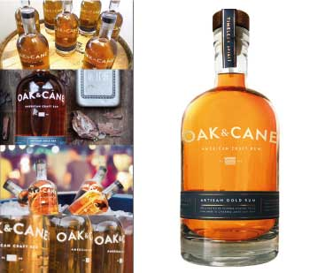 OAK AND CANE artisanal rum from Florida