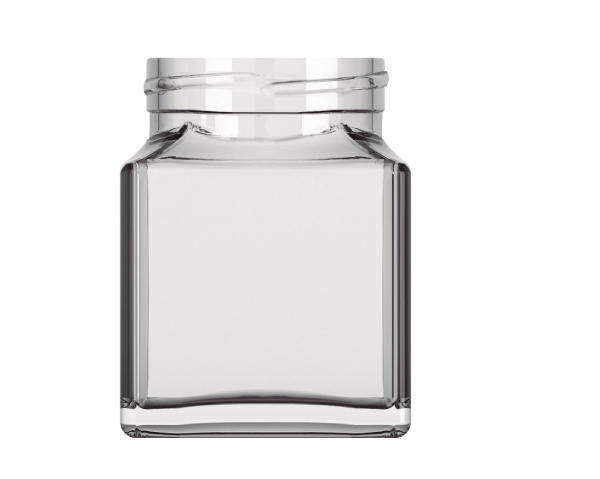 Premium Glass Bottle SQUARE