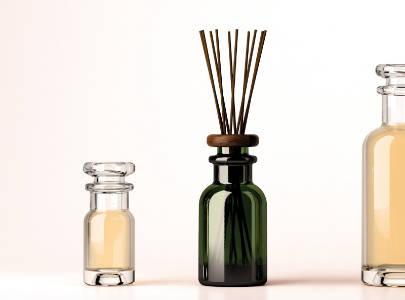 Home Fragrance', diffusers and air fresheners, the latest trend. - ESTAL -  Customized Glass Bottles
