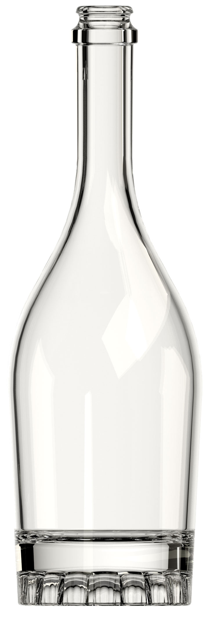 Premium Glass Bottle DA Opera Roseta